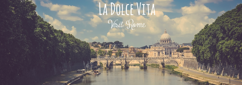 City View Of Rome With River_FotorTekst